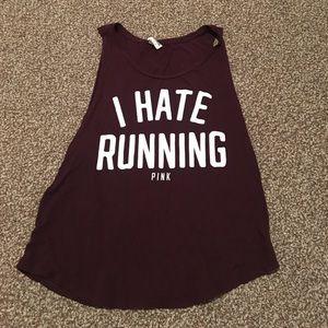 PINK I hate running tank!